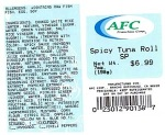 Yellow Fin Tuna Chunk Meat Recall [US]