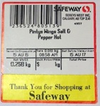 Safeway Cooked Chicken Wing Recall [Canada]
