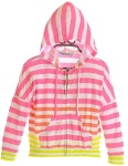 Girls Striped Hoodie and Neon Tie Dye Jacket Recall [US]