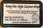 Chicken Wrap Product Recall [US]