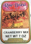 Rose brand Cranberry Mix Recall [US]
