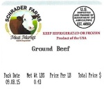 Schrader Farms Ground Beef Recall [US]