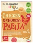 Co-op Chicken and Chorizo Paella Recall [UK]