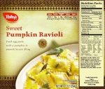 Raley's Frozen Sweet Pumpkin Ravioli Recall [US]