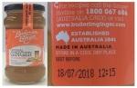 Buderim Ginger Marmalade Recall [Australia]