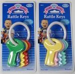 6321 - BabyKingRattleKeyToys