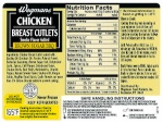 Wegmans Chicken Product Recall [US]
