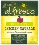 Al Fresco Sweet Apple Chicken Sausage Recall [US]