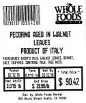 Pecorino Aged Cheese Recall [US]