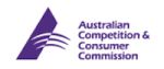 "Australian Competition & Consumer Commission (""ACCC"") Logo"