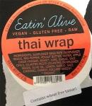 Eatin' Alive Thai Peanut Noodle & Thai Wrap Recall [US]