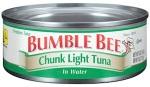 Bumble Bee Foods Canned Tuna Recall [US]
