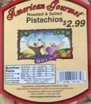 American Gourmet Pistachio Recall [US]