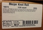 Meijer Knot Roll and Dinner Roll Recall [US]