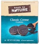 Back to Nature Classic Crème Cookie Recall [US]