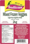 Indican brand Mixed Frozen Veggie Recall [Canada]