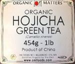 Organic Hojicha Green Tea Recall [Canada]