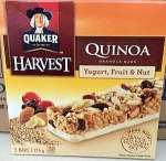 Quaker Harvest Quinoa Granola Bar Recall [Canada]