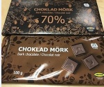 Ikea brand Dark Chocolate Bar Recall [Canada]
