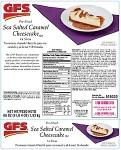 GFS brand Cheesecake Recall [US]