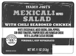 Trader Jose's Mexicali Salad Recall [US]