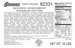 Simmons Chicken Fritter Recall [US]