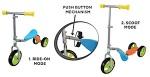 Argos Grow & Go 2 in 1 Sit 'n' Scoot Recall [UK]