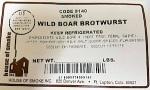 7352 - HouseSmokeWildBoarBrotwurst