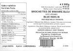 Blue Marlin & Vegetable Skewer Recall [Canada]
