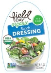 Field Day Organic Ranch Dressing Recall [US]