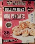 Belgian Boys brand Mini Pancake Recall [Canada]