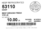 National Meat Beet and Veal Recall [US]