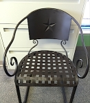 H-E-B Brazos Embossed Star Chair Recall [US]