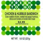 7-Eleven Chicken with Hummus Sandwich Recall [US]