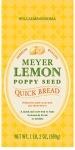 Meyer Lemon Poppy Quick Bread Recall [US]