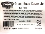Farm to Market Green Bean Casserole Recall [US]