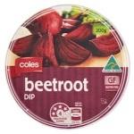 Coles brand Beetroot Dip Recall [Australia]