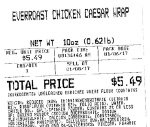 Everroast Chicken Caesar Wrap Recall [US]