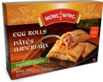 Wong Wing brand Vegetable Spring Roll Recall [Canada]