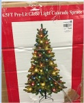 Globe Light Christmas Tree Recall [US]