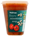 Waitrose Hearty Minestrone Soup Recall [UK]