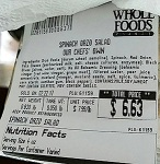 Whole Foods Market Spinach Orzo Salad Recall [US]