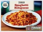 Tesco Frozen Spaghetti Bolognese Recall [UK]
