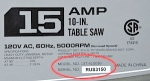 Craftsman Portable Table Saw Recall [US]