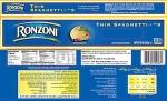 Ronzoni Thin Spaghetti Recall [US]