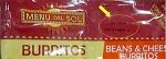 Menu Del Sol Burrito Recall [US]