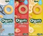 Organix Baby Biscuit Recall [Australia]