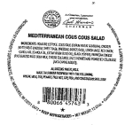 Med-style Chicken Cous Cous Salad Recall [US]