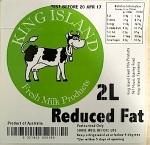 King Island Fresh Milk & Cream Recall [Australia]