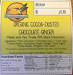 Hummingbird Chocolate Ginger Recall [US]